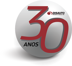 Logo 30 anos Disauto