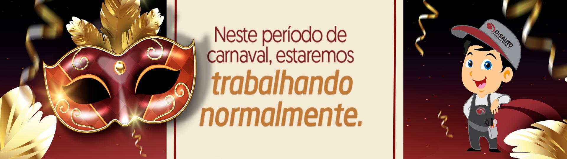 Comunicado Carnaval Disauto